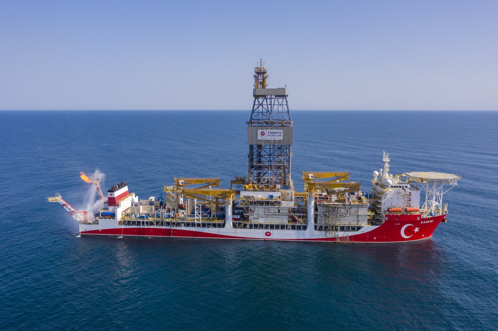 Turkey starts works on seabed pipeline to bring Black Sea gas onshore