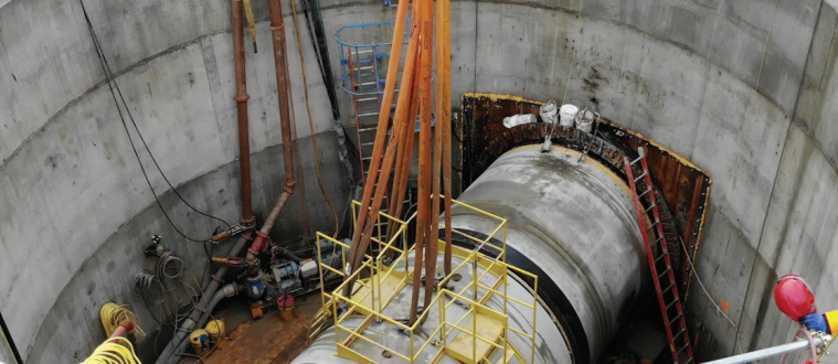 Milestone Project Tests Capabilities of Microtunnelling